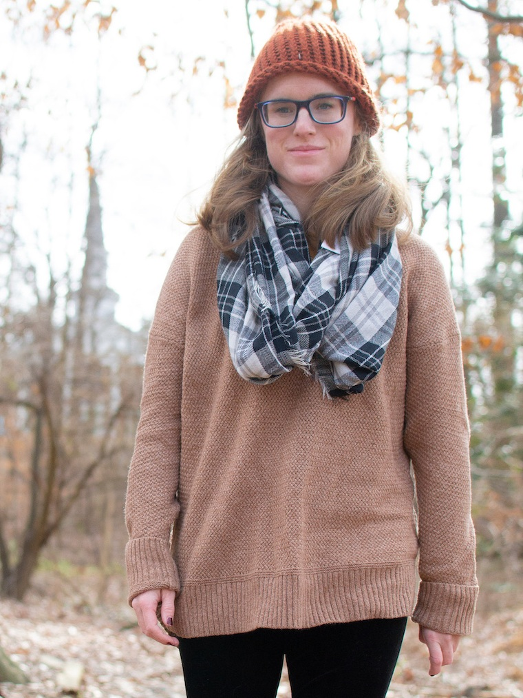 Cold weather outfit inspiration // A Week Of Casual & Comfortable Secondhand Outfits With Lee Rogers From Layers Of Lee on The Good Trade