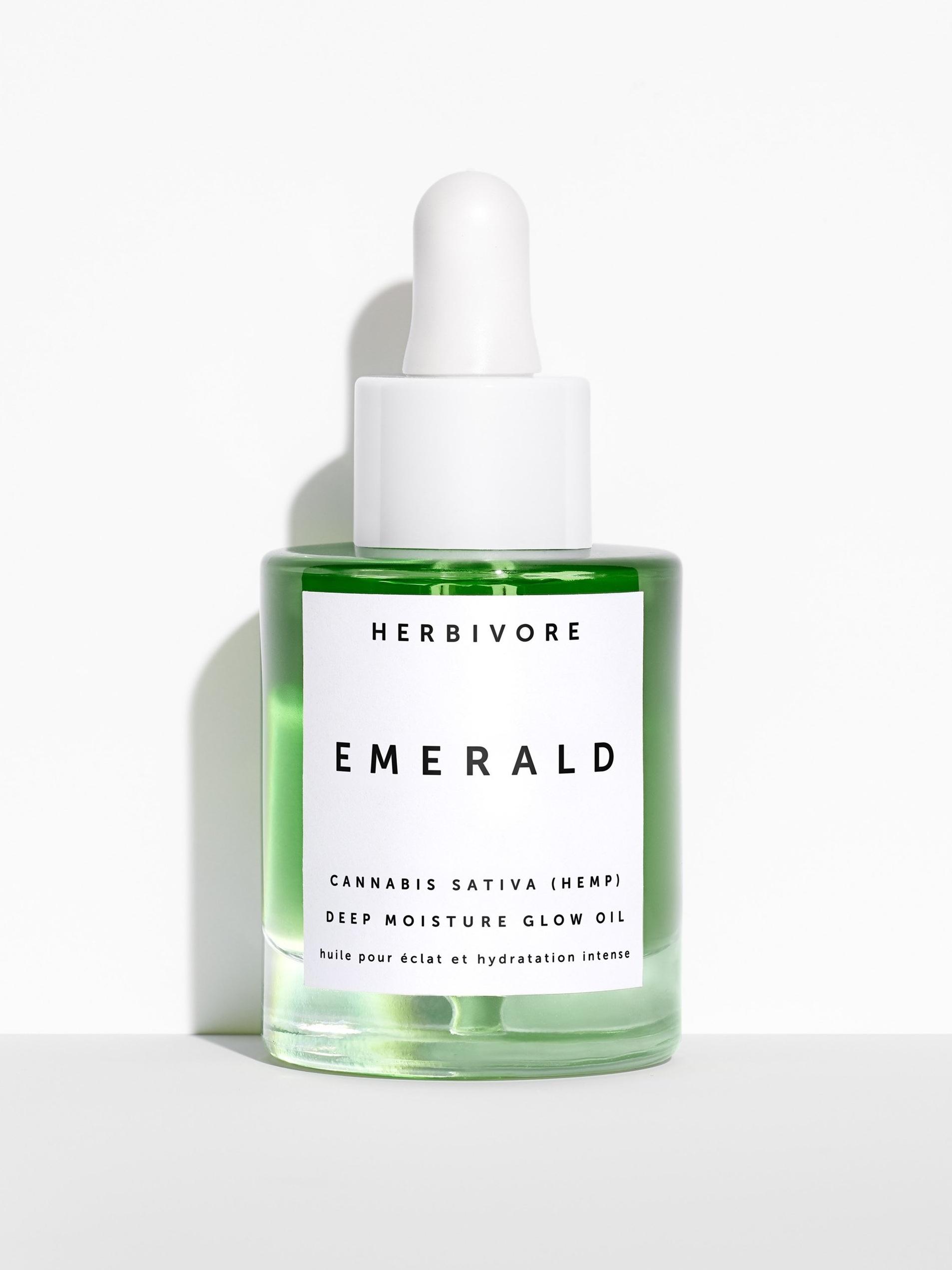 Hemp Based Beauty Products - Herbivore Hemp Seed Deep Moisture Glow Oil