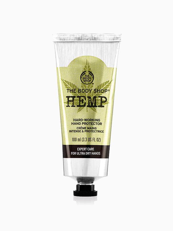 Hemp Based Beauty Products - The Body Shop Hemp Hand Protector Cream