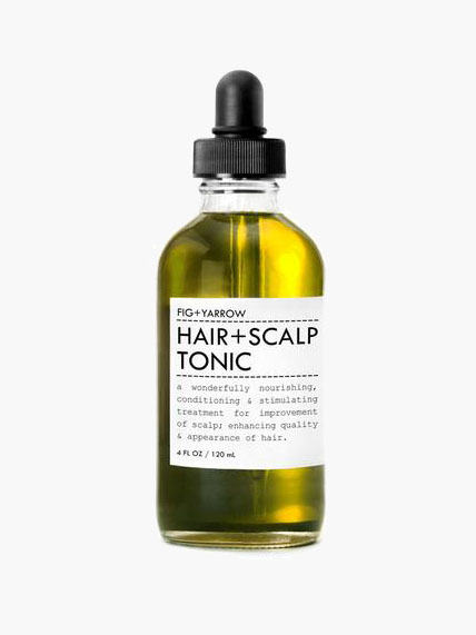 Hemp Based Beauty Products - FIG+YARROW Organic Hair + Scalp Tonic