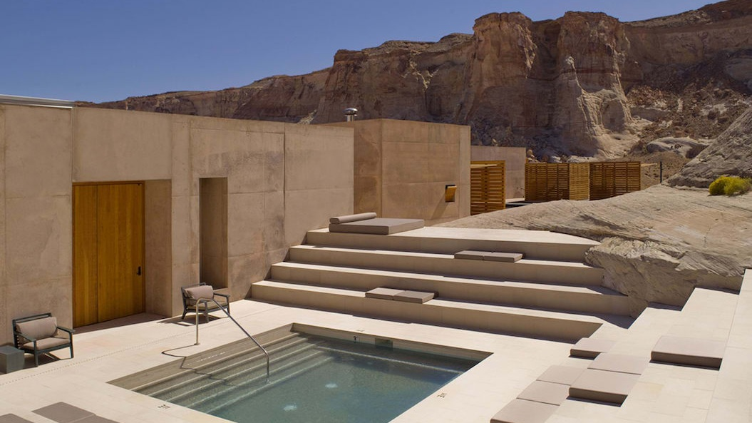 Luxury Resorts in Small Towns - Amangiri in Canyon Point, Utah