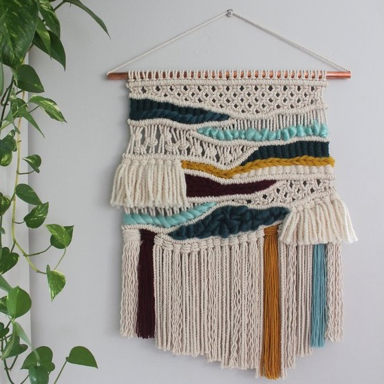 Handcrafted Macrame Wall Hangings - Landscape by Urban Jungle Design