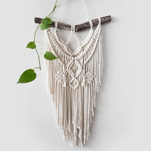 Handcrafted Macrame Wall Hangings - Macrame Wall Hanging by Dope Rope