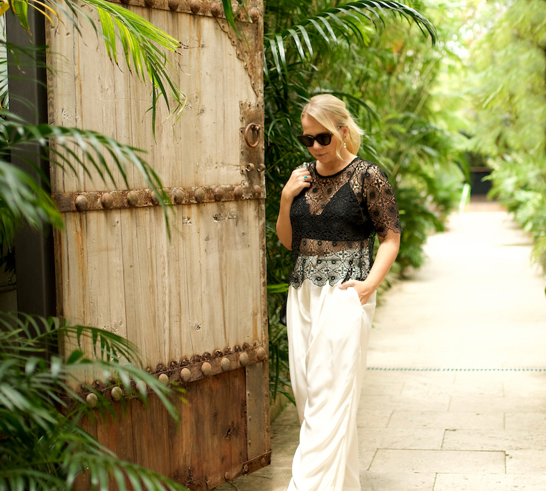 Casual summer outfit // A Week Of Designer-Inspired Salvation Army Finds With Faye De Lanty From Fashion Hound on The Good Trade