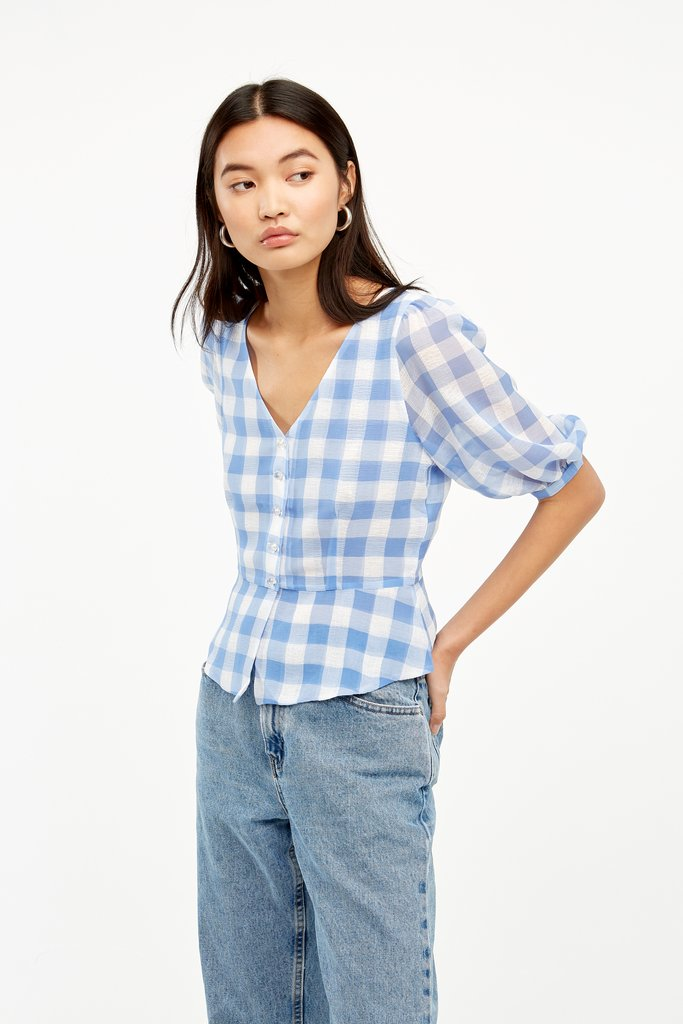 Maybelle Short Sleeve Blouse by Capulet