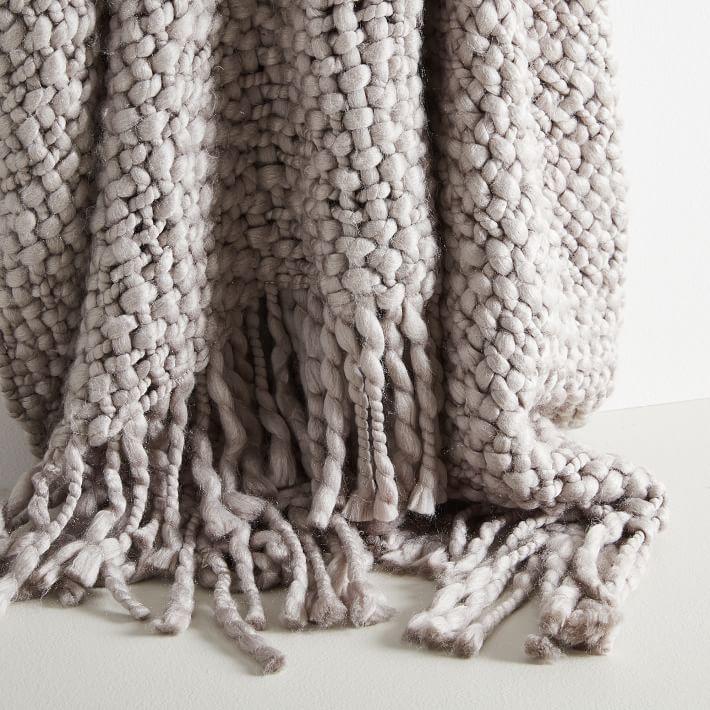 West Elm Woven Blanket