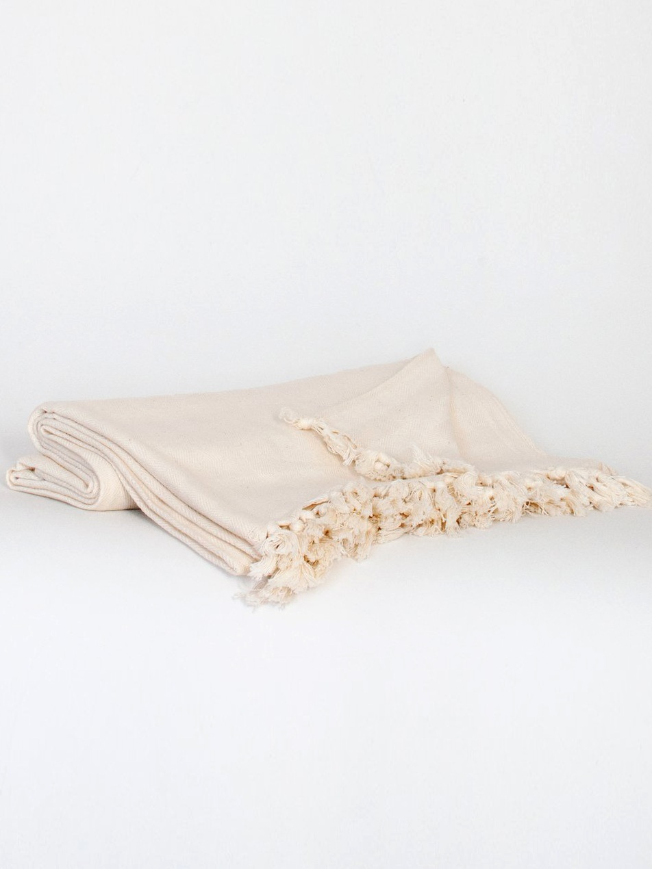 Equal Uprise Ivory Throw