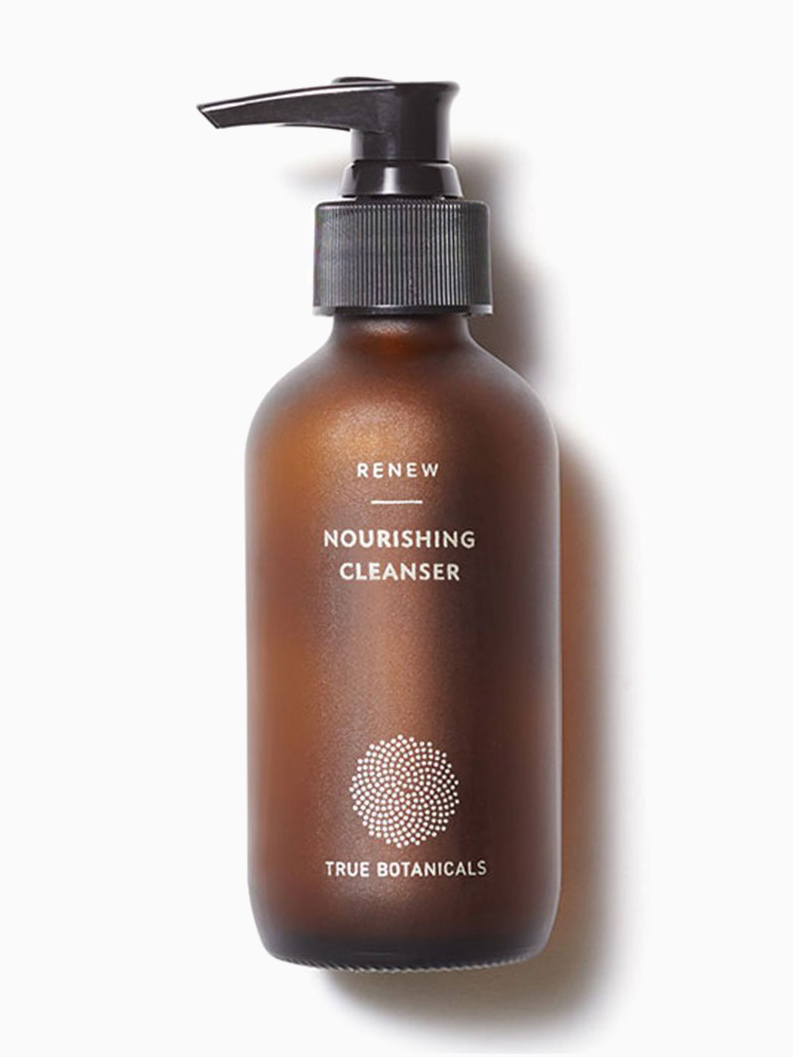 All Natural Face Wash - True Botanicals Nourishing Cleanser