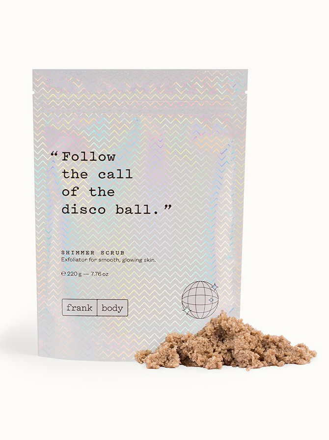 Shimmer Scrub | Frank Body - Eco-Friendly & Fair Trade Bridesmaids Gifts