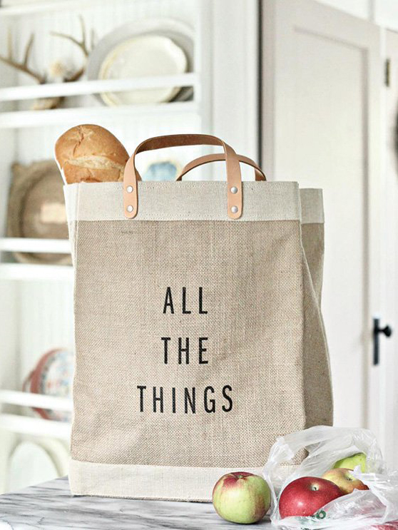 Customizable Market Bag | Apolis - Eco-Friendly & Fair Trade Bridesmaids Gifts