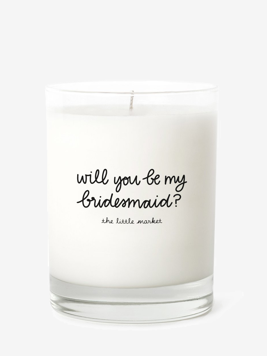 Be My Bridesmaid Candle | The Little Market - Eco-Friendly & Fair Trade Bridesmaids Gifts