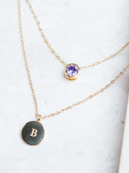 Initial Necklace | Starfish Project - Eco-Friendly & Fair Trade Bridesmaids Gifts
