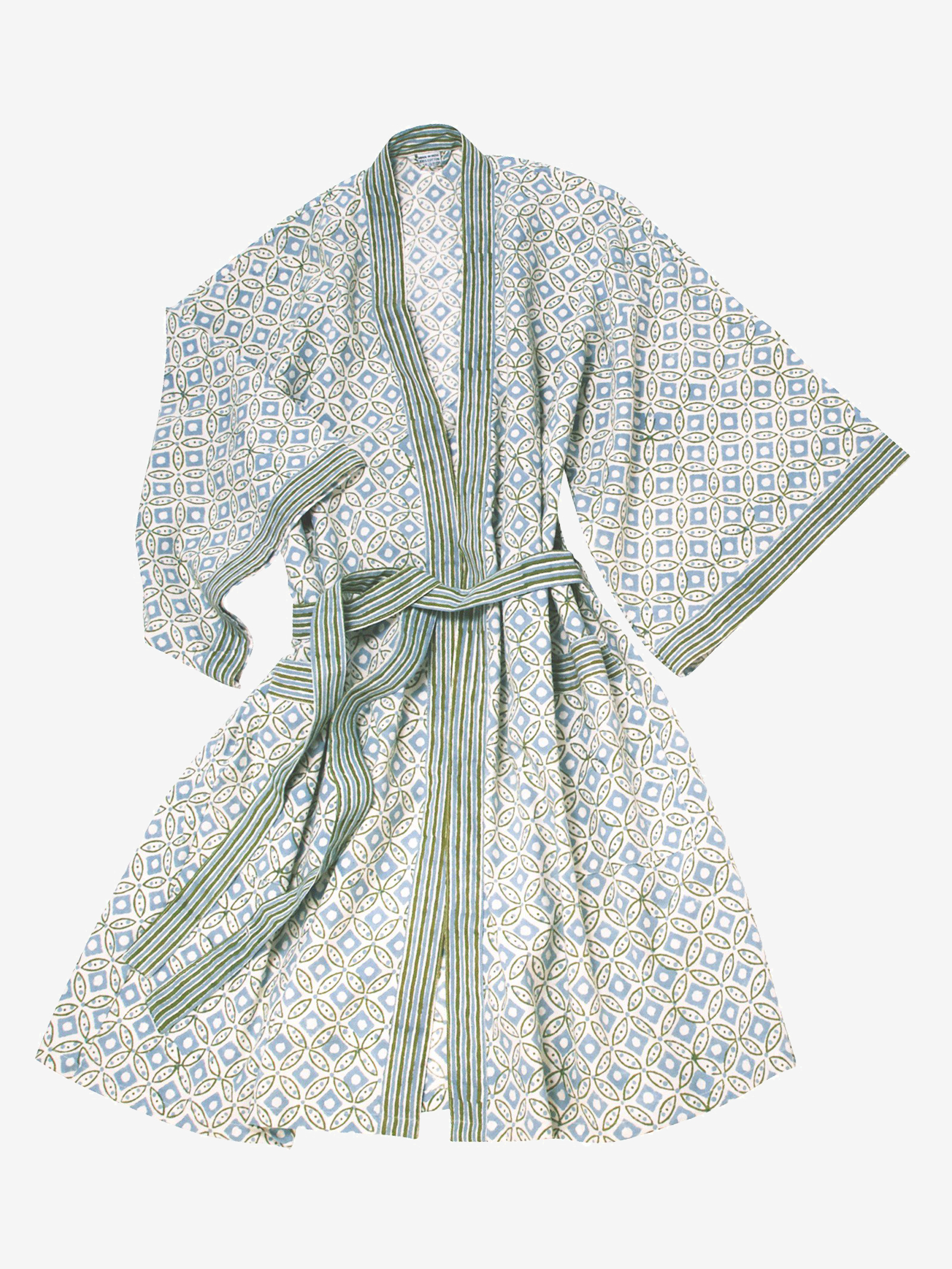Rajasthan Blockprint Robe | Ten Thousand Villages - Eco-Friendly & Fair Trade Bridesmaids Gifts
