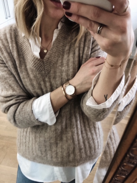Layered Winter Spring Look // Week Of Outfits With Signe Hansen On The Good Trade