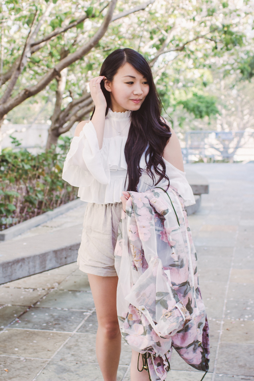 We Are Kindred Floral Anorak // Week Of Outfits With Diana Youn On The Good Trade