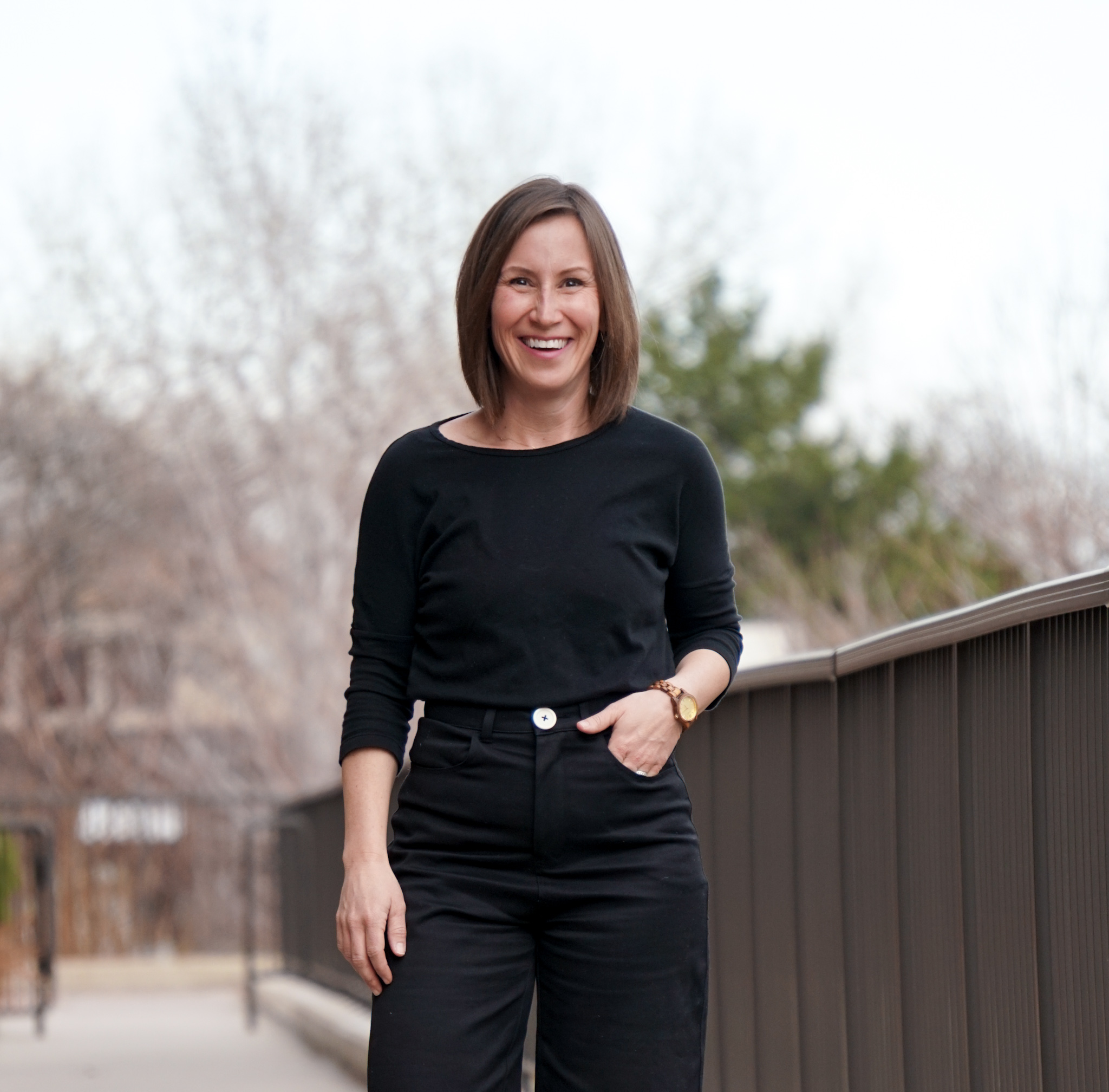 All Black Outfit Inspiration // Week Of Outfits With Paige Marchi On The Good Trade