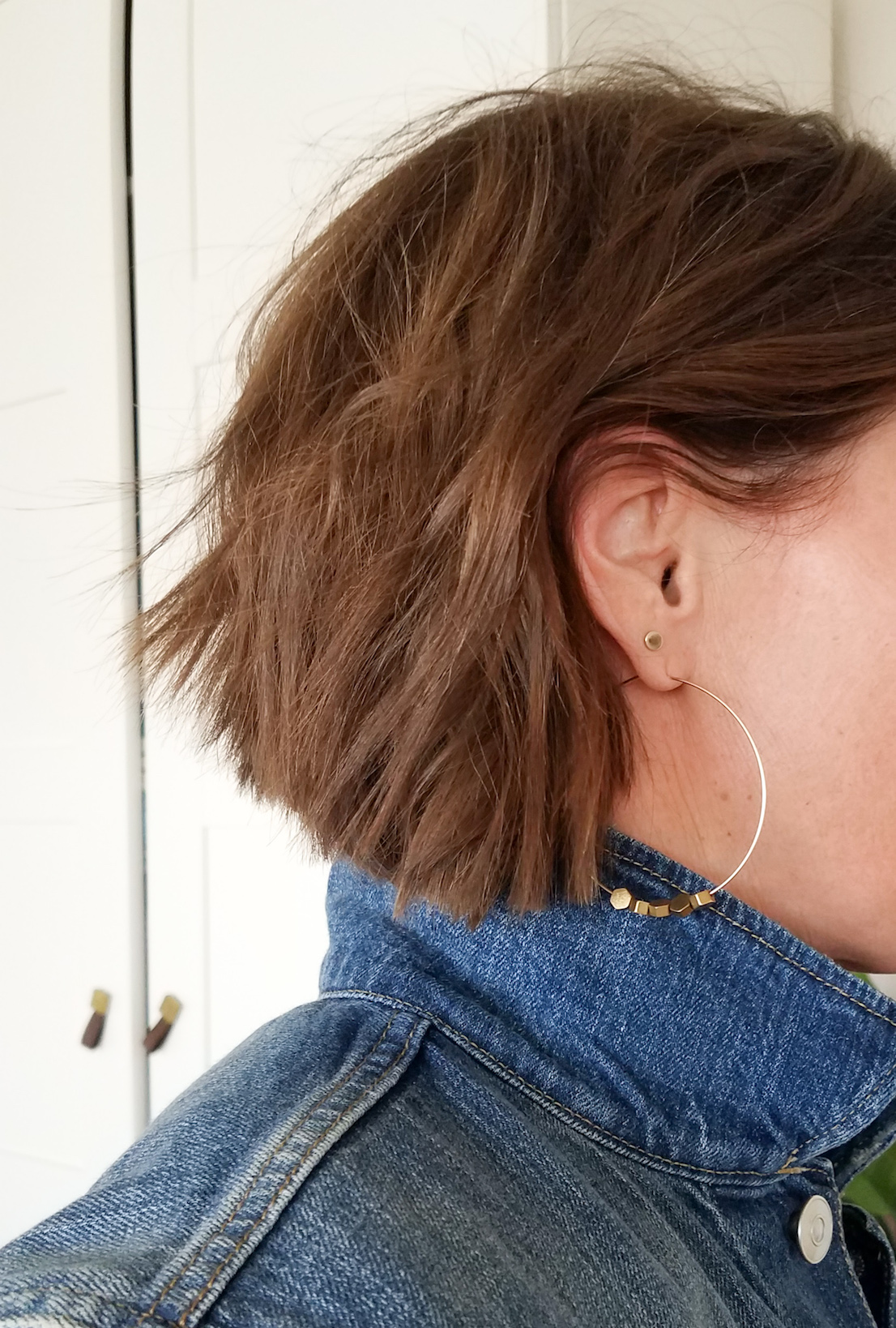Big Hoop Earrings // Week Of Outfits With Paige Marchi On The Good Trade