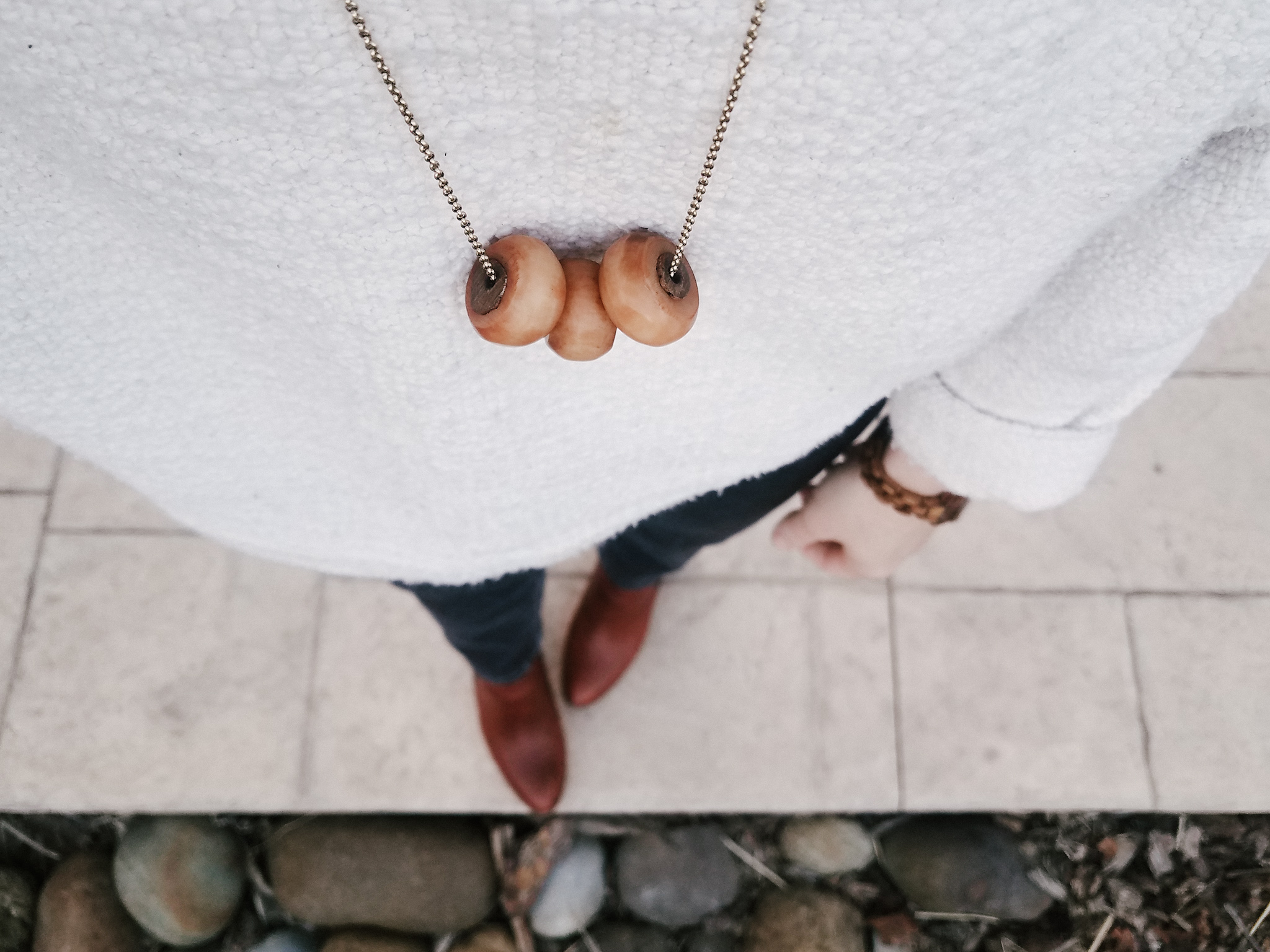 Natalie Borton Necklace // Week Of Outfits With Paige Marchi On The Good Trade