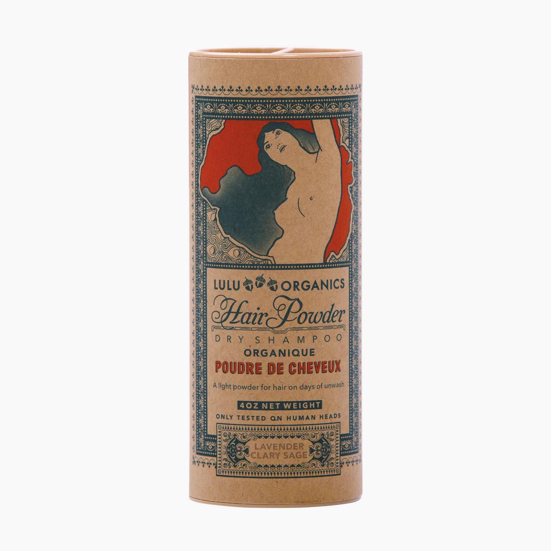 Organic Dry Shampoo - Lulu Organics Hair Powder