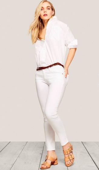 Petite Sustainable Brands - Warp + Weft Denim Jeans