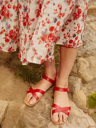 Fair Trade Sandals // Christy Dawn