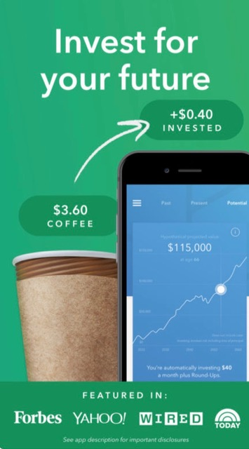 Financial And Investment Money Apps // Acorns