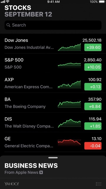 Financial And Investment Money Apps // Stocks