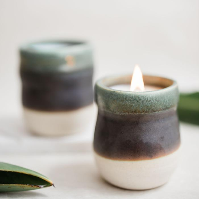 Candles from Cozier Studios  - Zero Waste Wedding Gift Ideas on The Good Trade