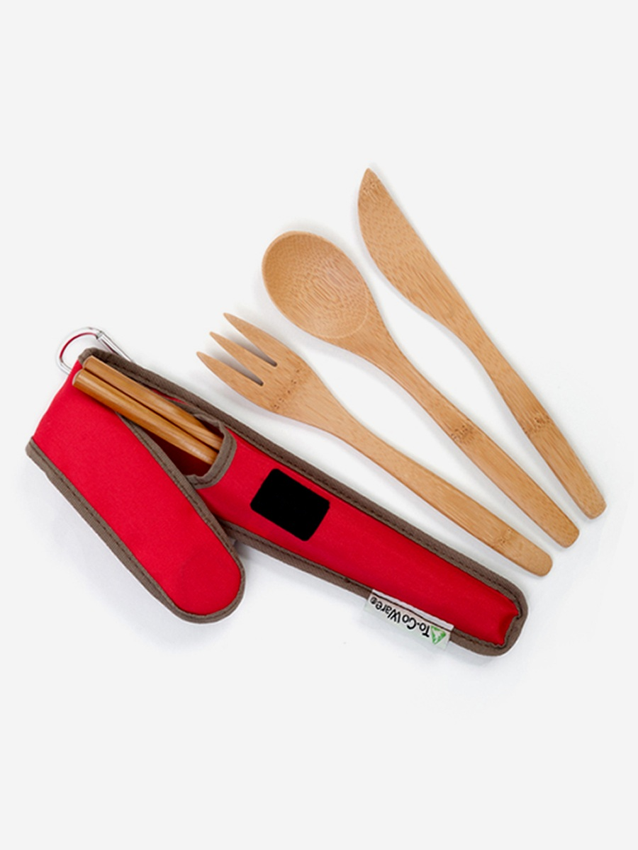 Bamboo Utensils | Eco-Friendly Dorm Room Supplies