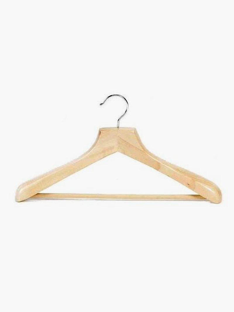 Eco-Friendly Wooden Hangers | Eco-Friendly Dorm Room Supplies
