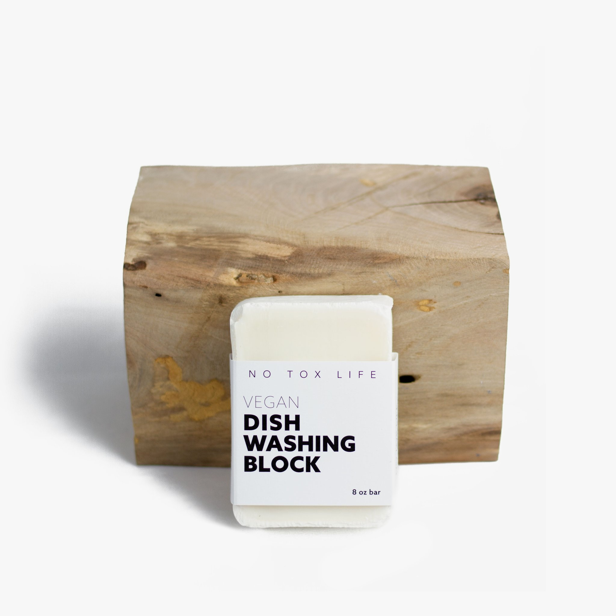 Vegan Dish Washing Bar Soap from No Tox Life and Well Earth Goods