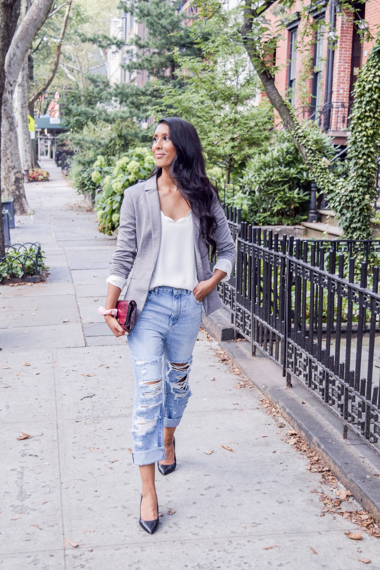 Casual day to night outfit  // A Week Of Conscious Trend-Forward Outfits With Sabrina Ramkhelawan From Flaunt Your Fancy on The Good Trade