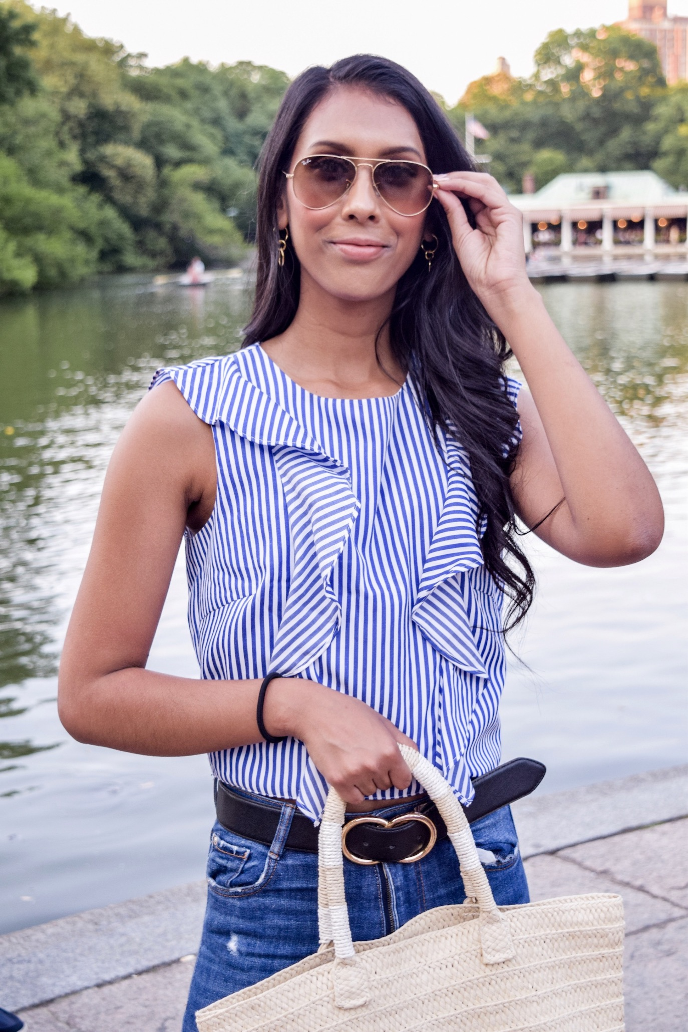Business casual outfit idea // A Week Of Conscious Trend-Forward Outfits With Sabrina Ramkhelawan From Flaunt Your Fancy on The Good Trade
