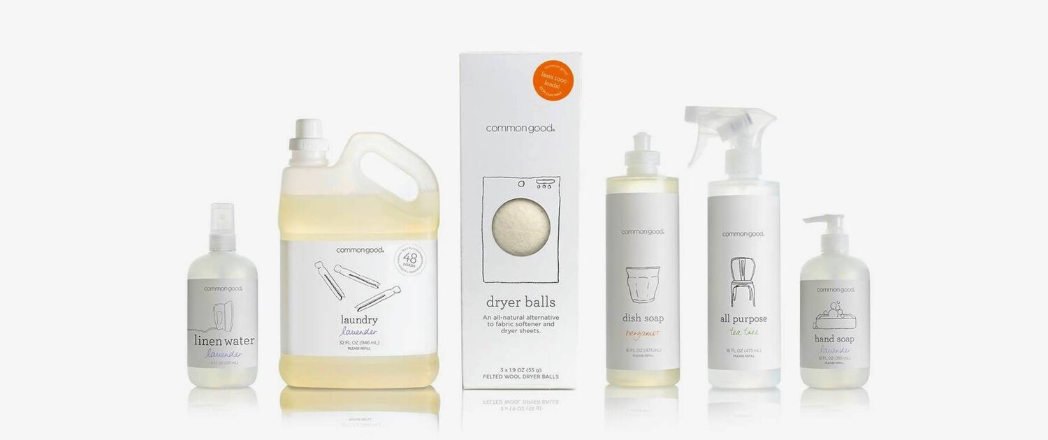Biodegradable Compostable cleaning products