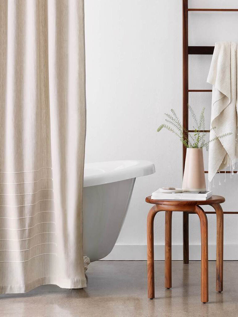 6 Eco Friendly Shower Curtains For An Easy Bathroom Upgrade