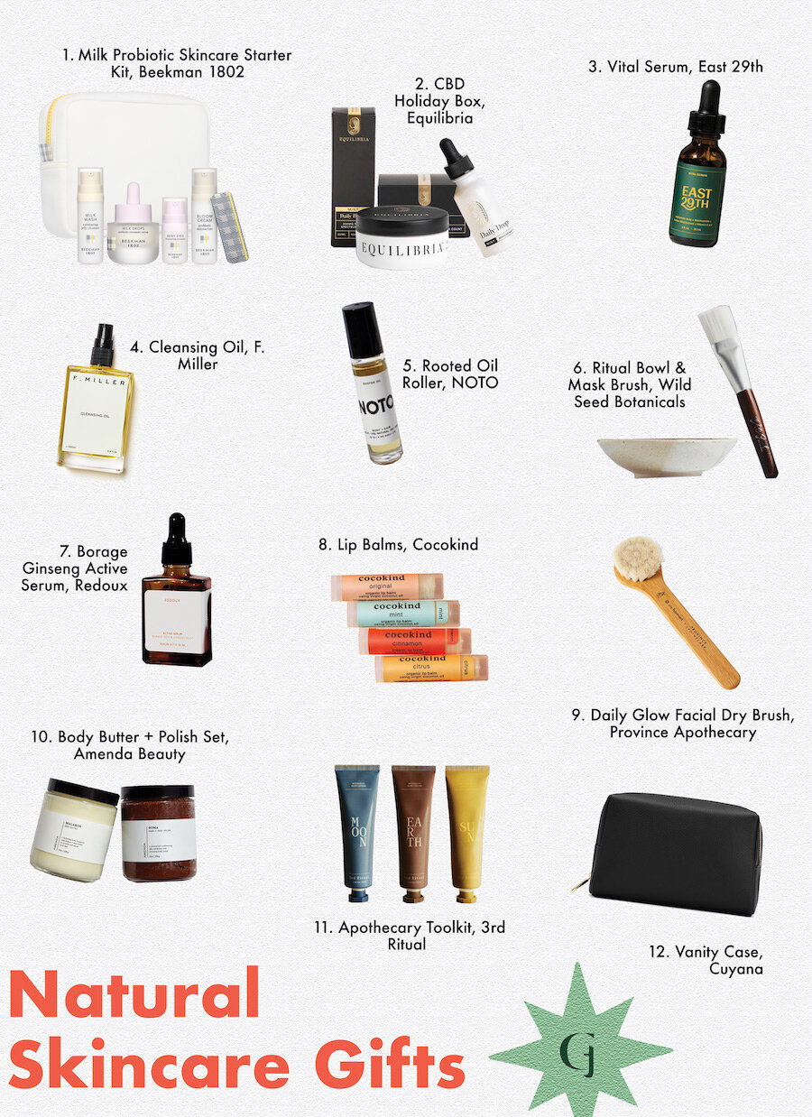 12 Perfect All Natural Skincare Gifts For The Green Beauty Aficionado