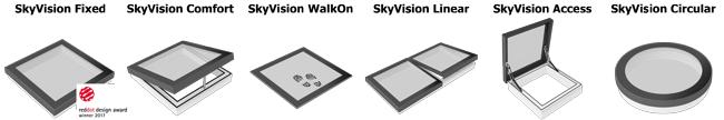 Alla modeller på SkyVision