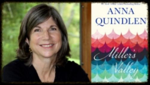Anna Quindlen and Miller's Valley Novel
