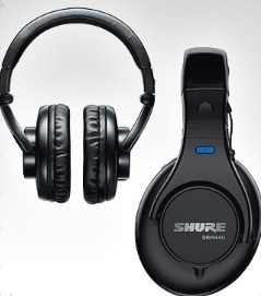 Shure+headphones