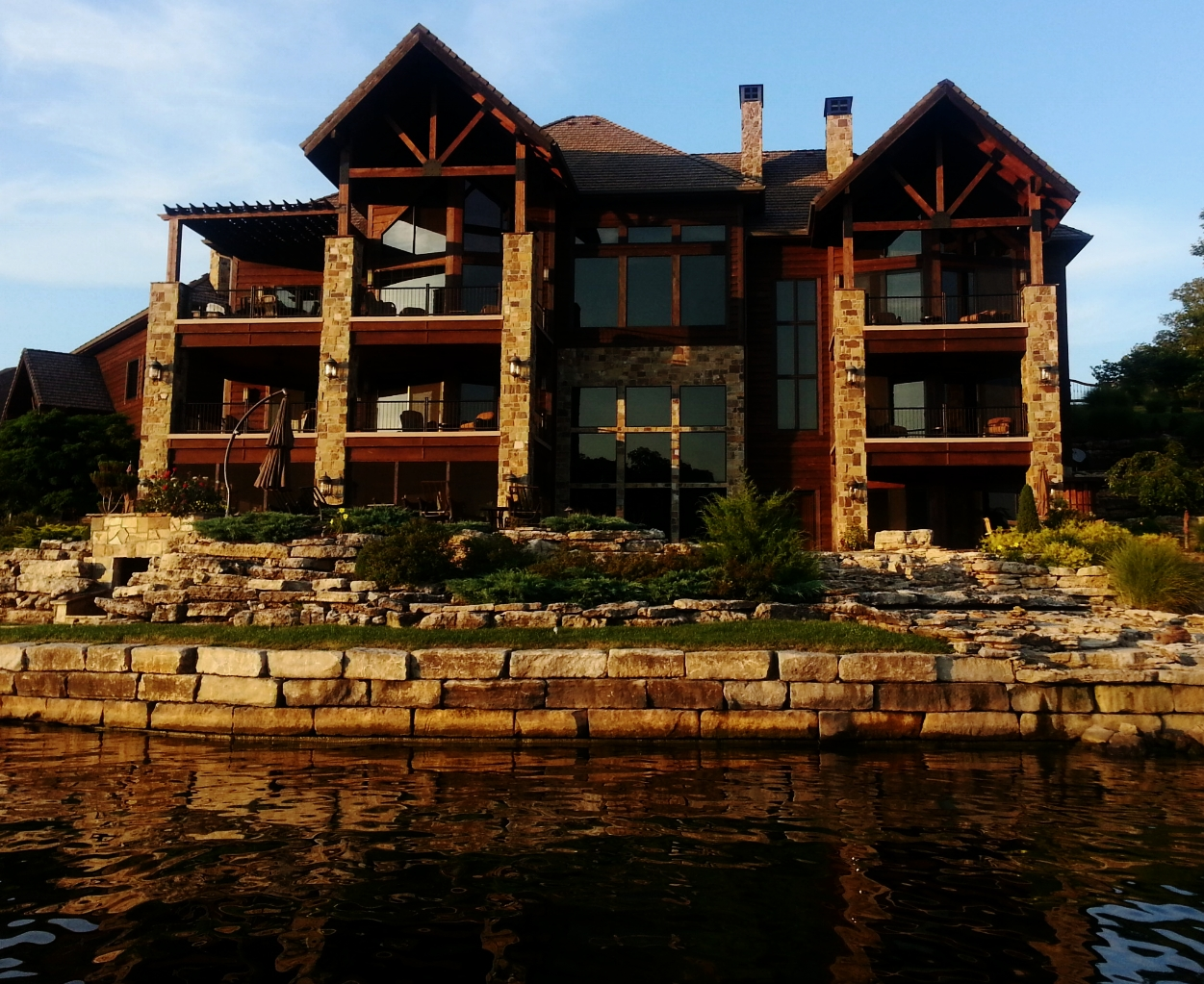 Magnificent Waterfront Homes