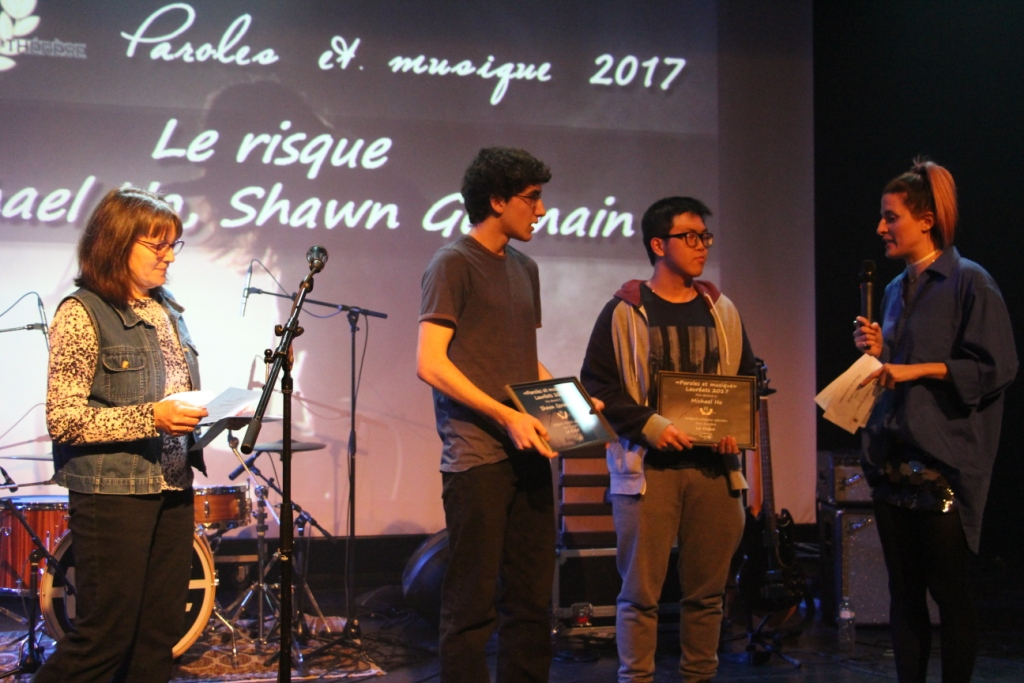 Michael Ho, Shawn Germain, auteurs du texte Le risque