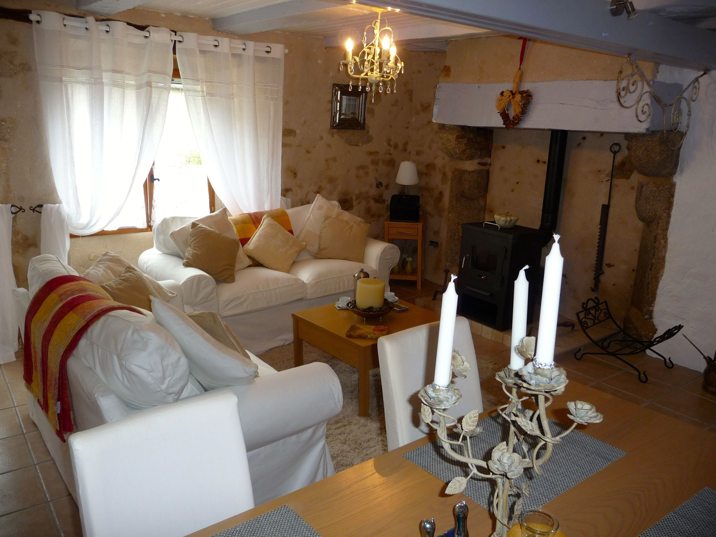 Living room Maison de Maurice