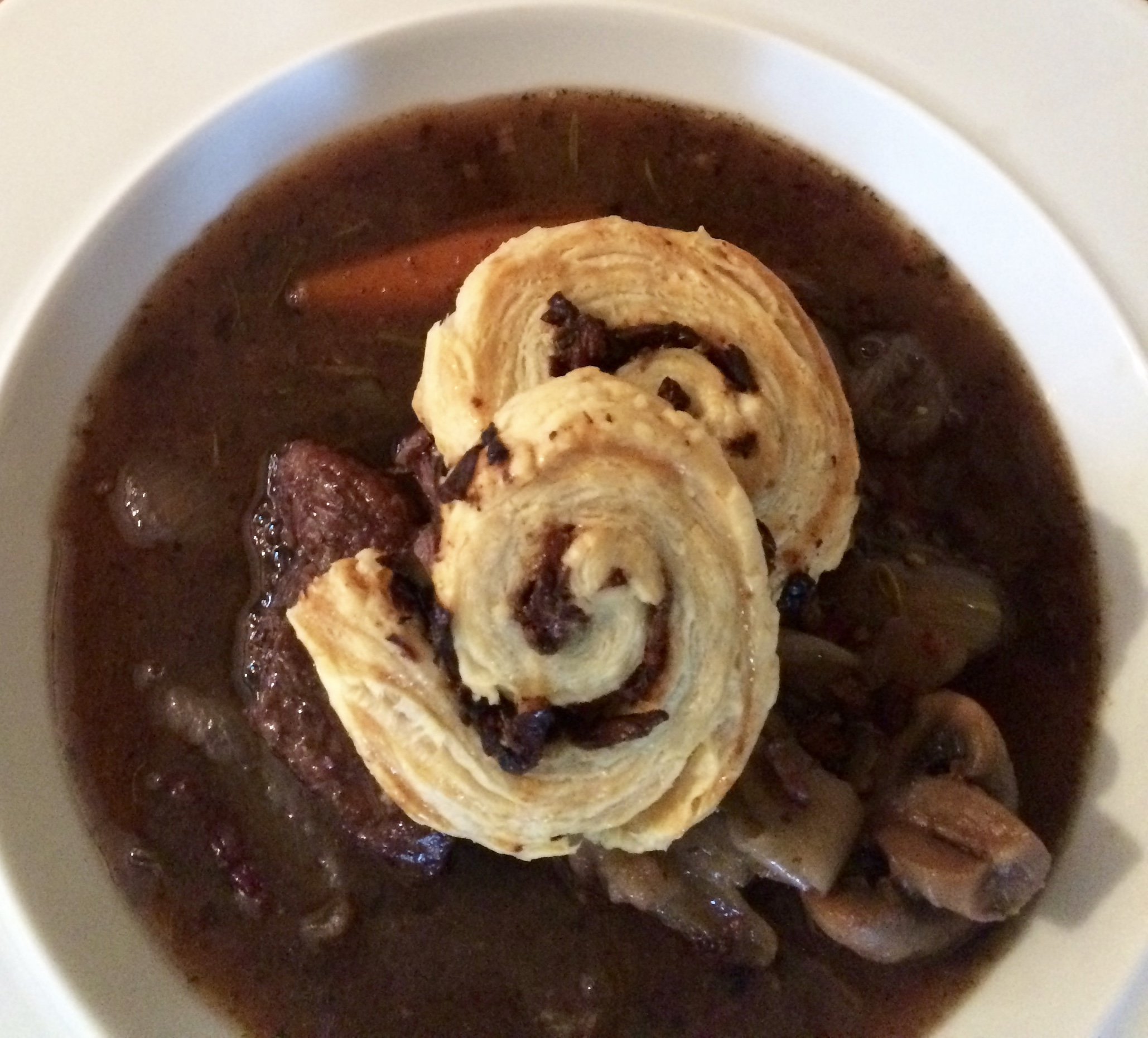 Ragout of beef 'A Bois Mort'