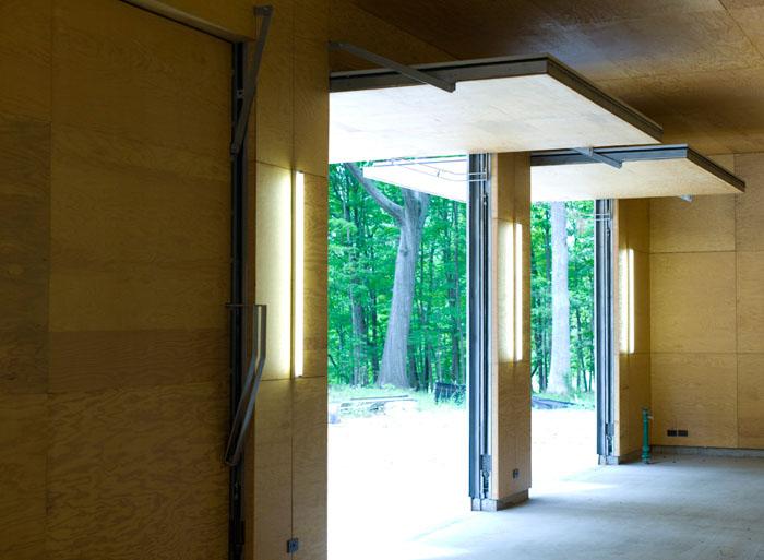garage - plywood lining.jpg