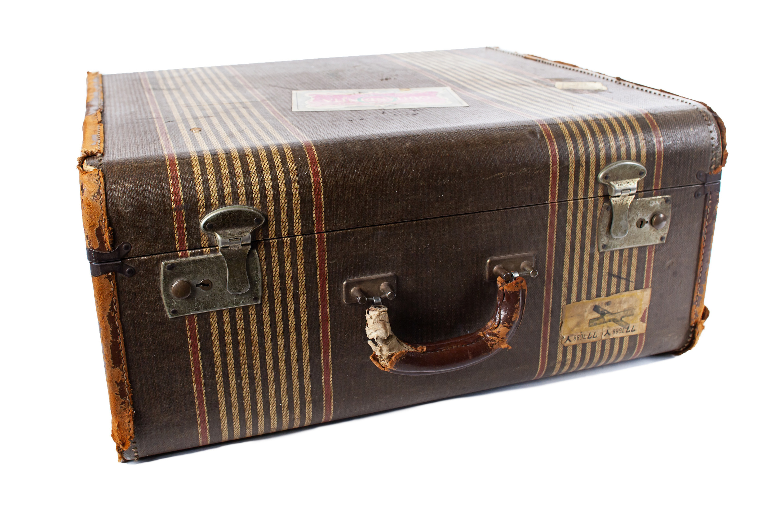 Stripe Suitcase