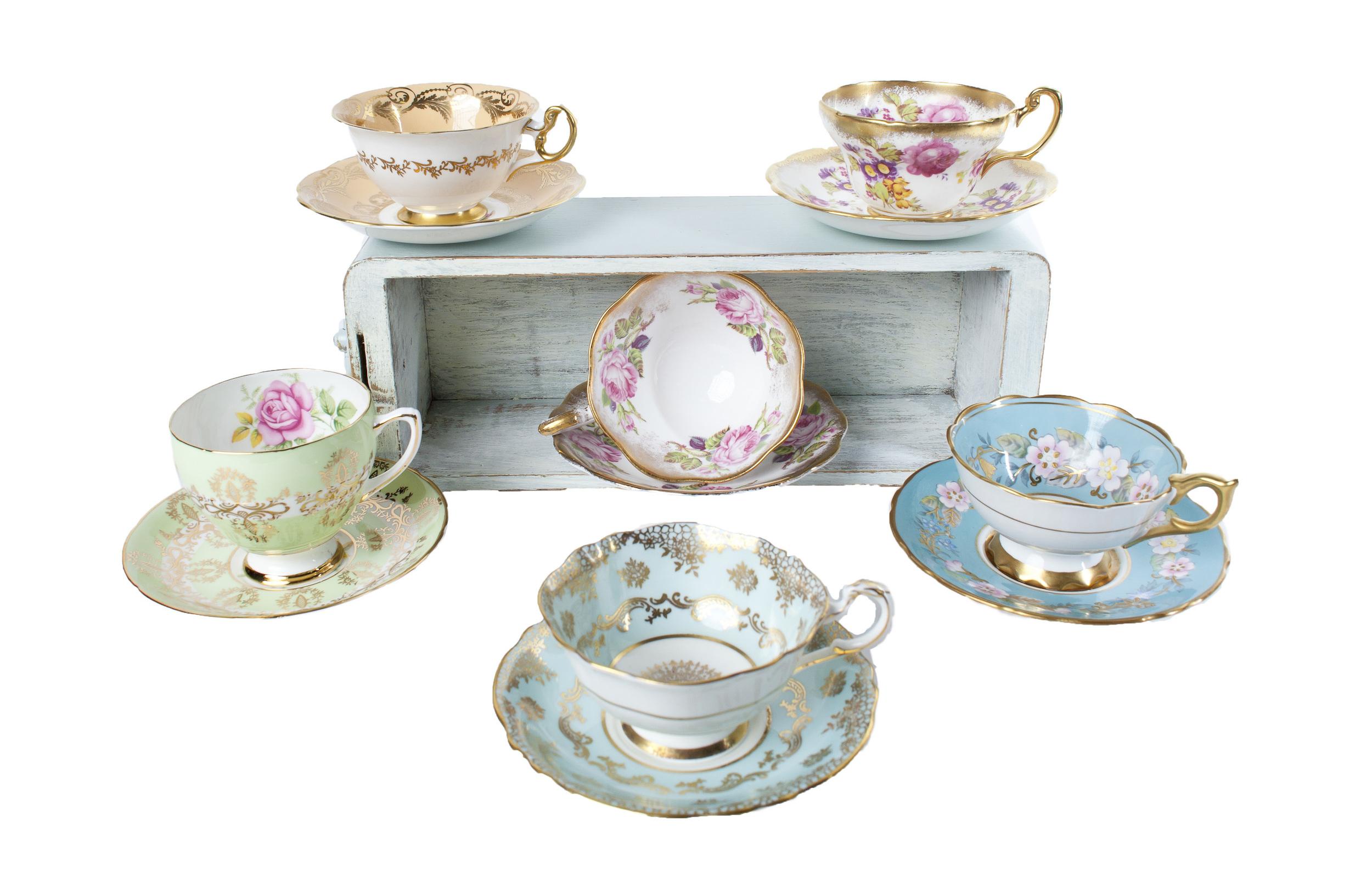 Assorted Teacups