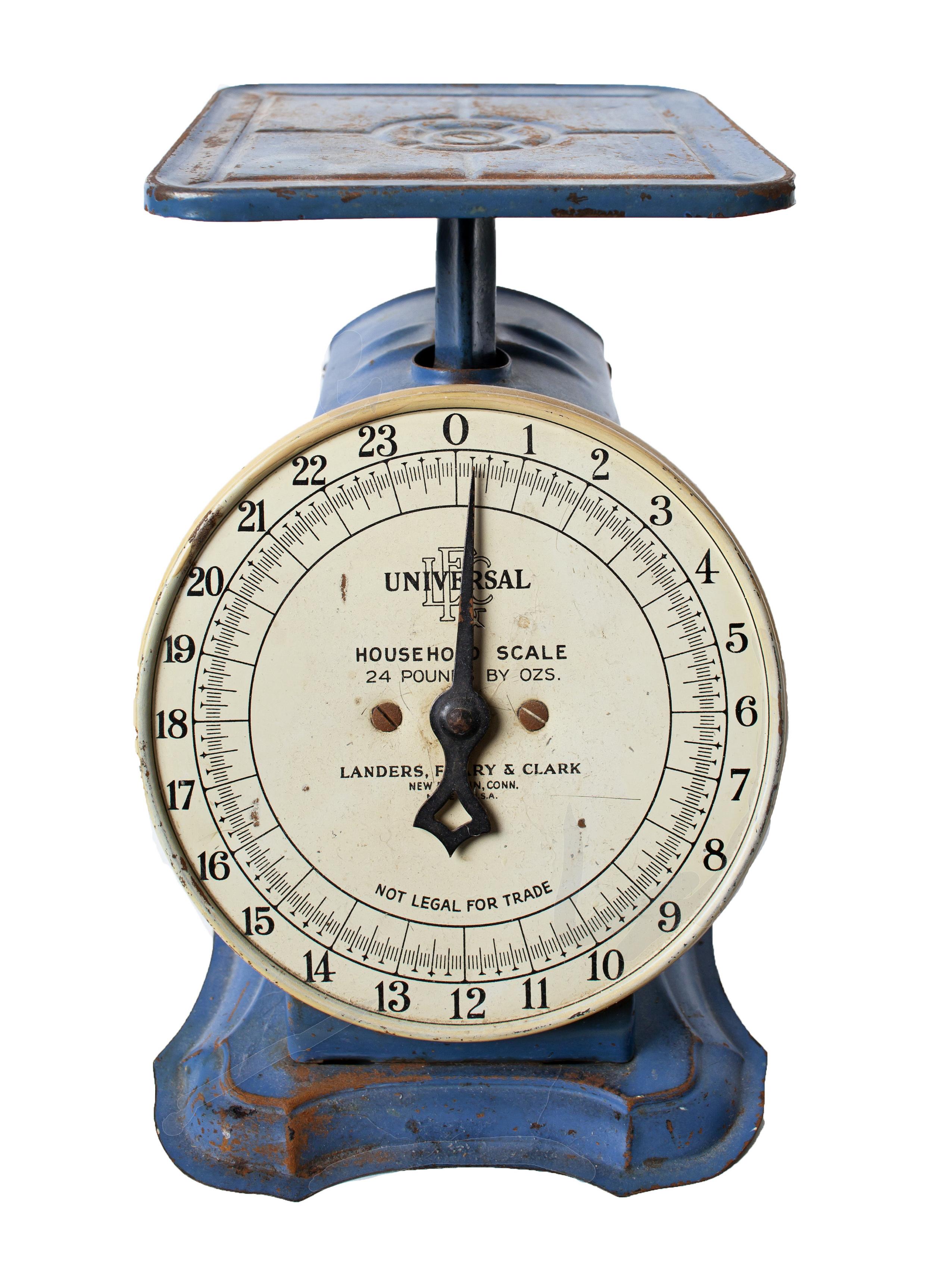 Blue Kitchen Scale