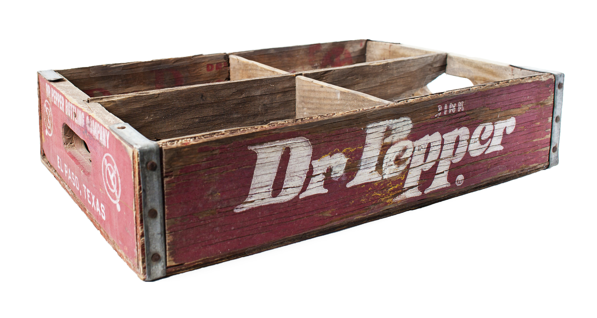 Dr. Pepper Crate