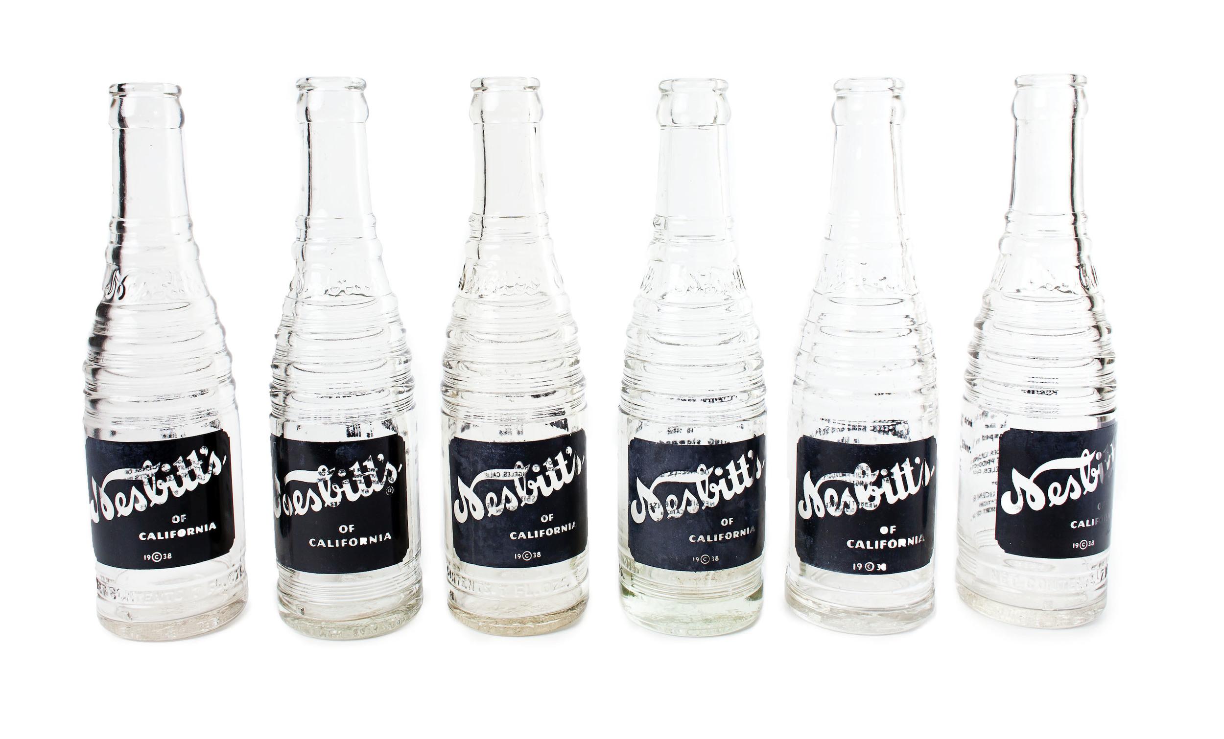 Nesbitt pop bottles