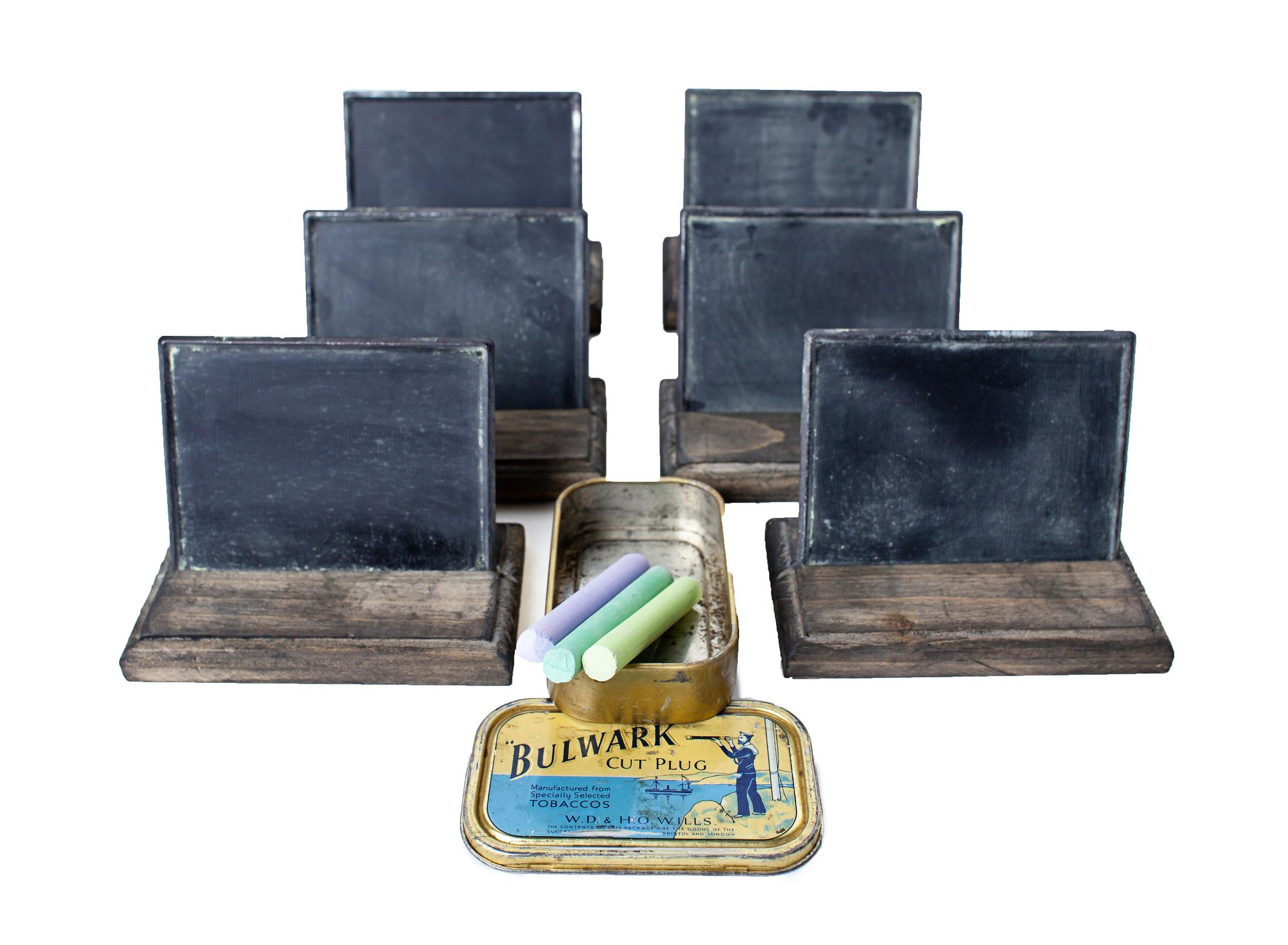 Mini Chalkboards w/ Stands